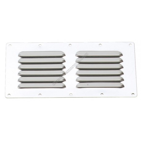 Grille inox 230x115 mm