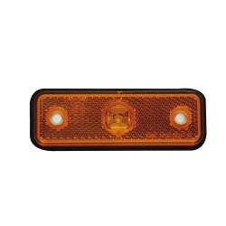 feu lateral orange3 leds 12 volt